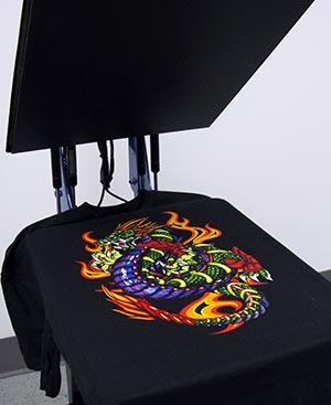 Embroidery and Direct-to-Garment Printing