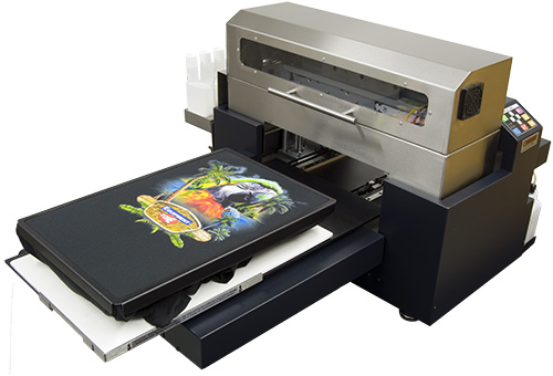 Multimedia Direct-to-Garment Printing for Embroiderers