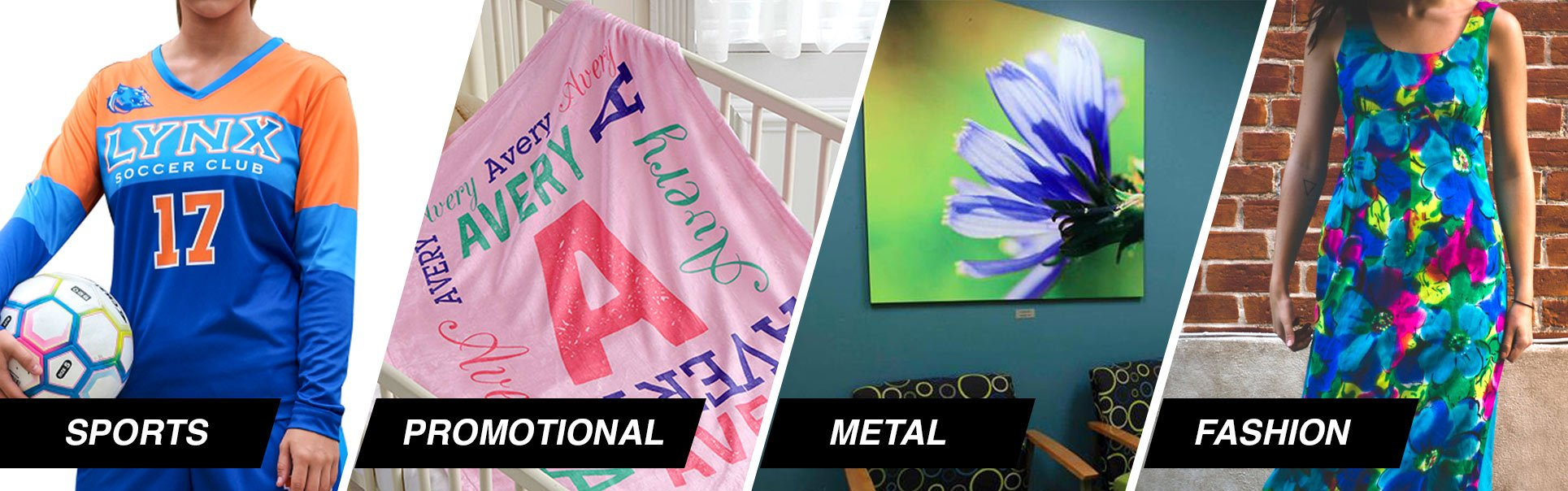 application of dye sublimation printing
