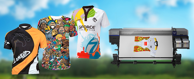Application of dye sublimation printer