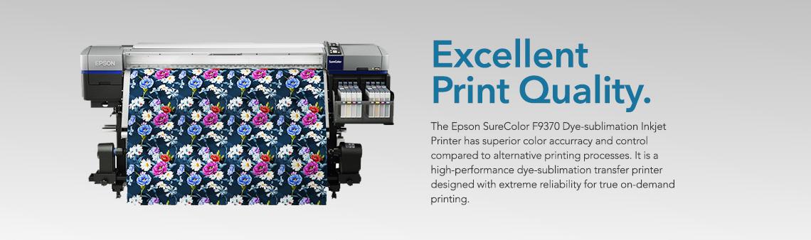 Epson F9370 - Dye Sublimation Printer   Equipment Zone