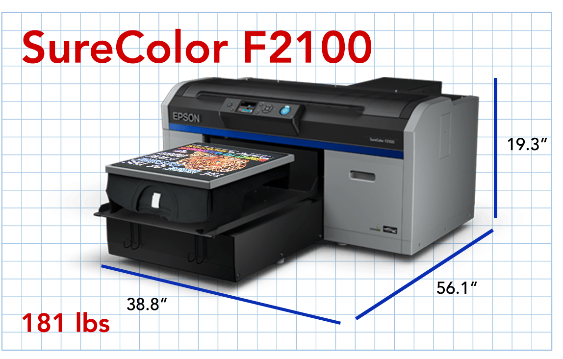 F2100 Dimensions
