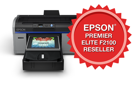 Epson f2100 DTG Direct To Garment Printer with T-Shirt and Software