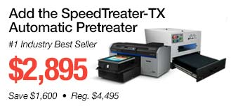 Add the SpeedTreater-TX Automatic Pretreater