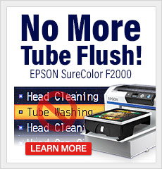 New Epson SureColor F2000 Tube Flush Alternative