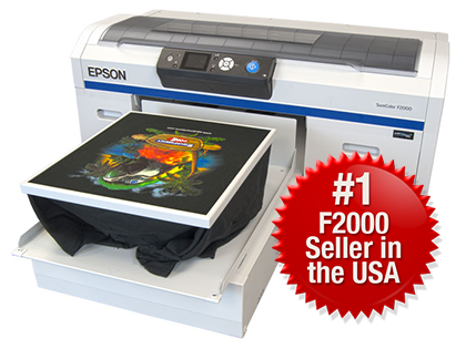 Epson F2000 Direct-to-Garment Printer