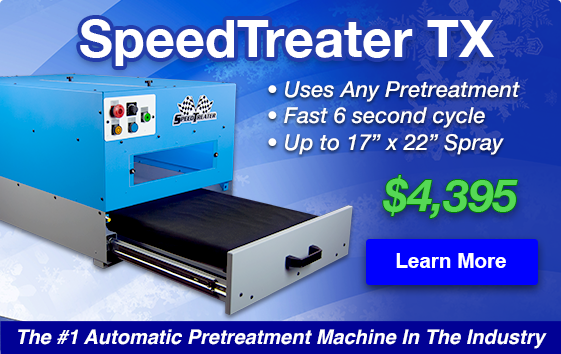 Learn More about the SpeedTreater-TX Automatic Pretreater on Sale for $4,395