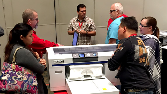 Equipment Zone F2000 DTG Printer Hands-on Demonstration