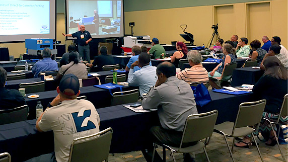 Equipment Zone F2000 DTG Printer Class at NBM Baltimore