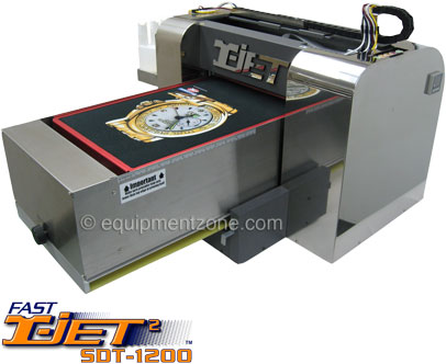 Fast T-Jet 2 Direct-to-Garment Printer | Equipment Zone