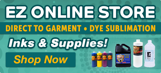 Direct To Garment Inks and Supplies - Online Store - Shop Now