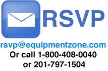 RSVP to Equipment Zone's Open House