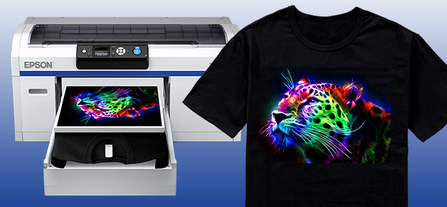 Epson surecolor f2000 dtg printer seminar equipment zone for Epson t shirt printer